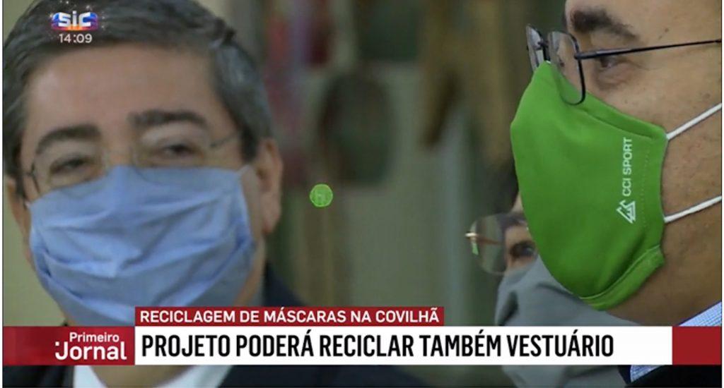 Reciclagem de Máscaras - Sustentabilidade têxtil - TO Be Green