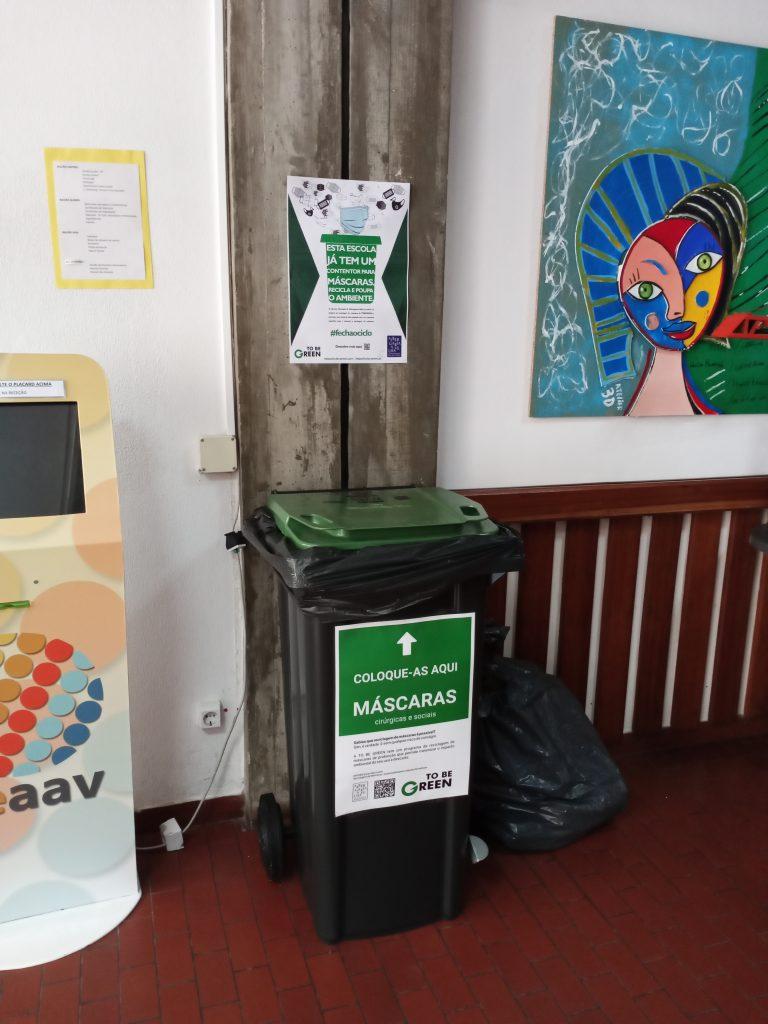 Reciclagem de Máscaras - Sustentabilidade têxtil - ToBeGreen - Albergaria-a-Velha